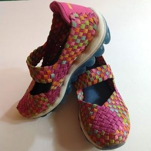 Skechers Memory Foam Mary Jane Shoes - Size 13Y